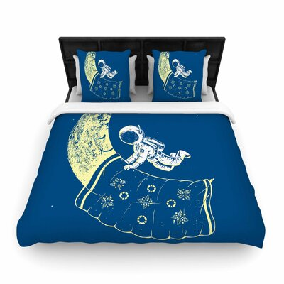 Barmalisirtb You Need a Break Moon Woven Duvet Cover Size: Twin