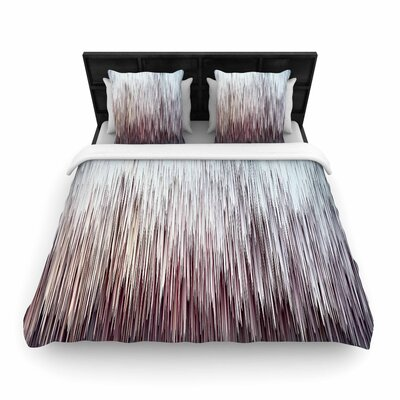 Ginkelmier Planet Pixel Rose Digital Woven Duvet Cover