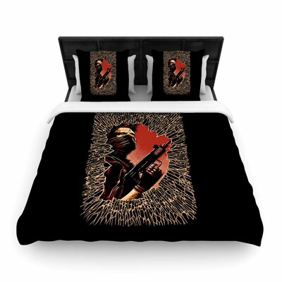 BarmalisiRTB War is Over Woven Duvet Cover