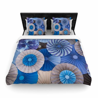 Heidi Jennings 'Coastline Cottage' Woven Duvet Cover Size: Twin