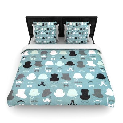 Heidi Jennings Hats Off to You Woven Duvet Cover Size: Twin