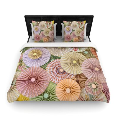 Heidi Jennings Spring Woven Duvet Cover Size: Full/Queen