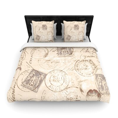 Heidi Jennings World Traveler Woven Duvet Cover Size: King