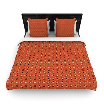 Holly Helgeson Deco Arrows Woven Duvet Cover Size: King