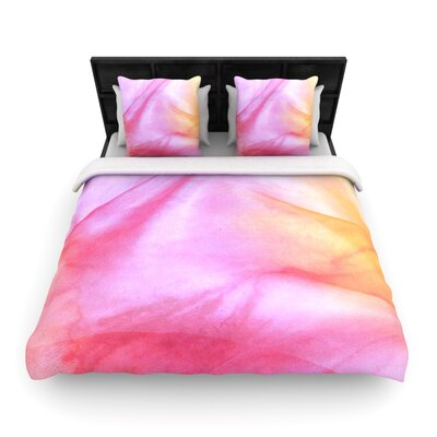 Heidi Jennings Pastel Haze Woven Duvet Cover Size: Full/Queen