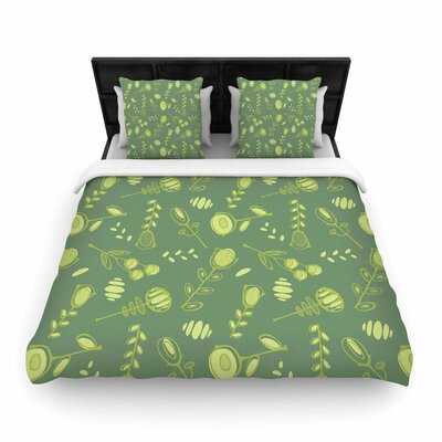 Holly Helgeson Hattie Floral Woven Duvet Cover