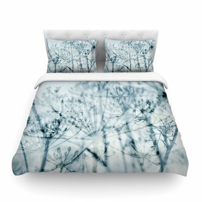 Iris Lehnhardt Atmospheric Blue Featherweight Duvet Cover Size: King