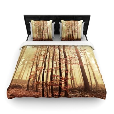Iris Lehnhardt Autumn Again Woven Duvet Cover Size: King