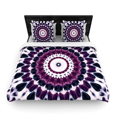 Iris Lehnhardt Batik Pattern Geometric Woven Duvet Cover Size: Twin