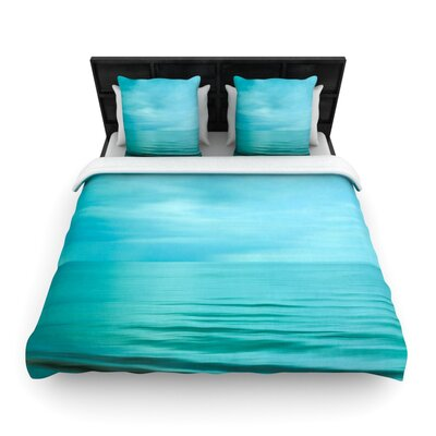 Iris Lehnhardt Calm Sea Woven Duvet Cover Size: Full/Queen