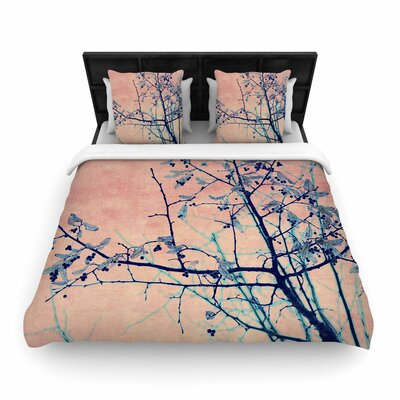 Ingrid Beddoes Sweetgum Tree Woven Duvet Cover Size: King