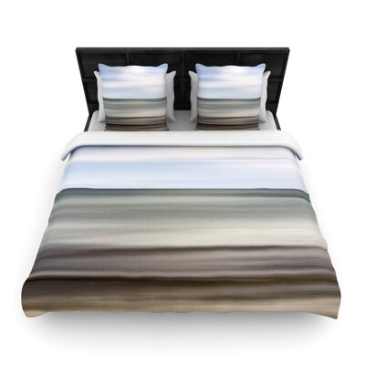 Iris Lehnhardt Abstract Beach Woven Duvet Cover Size: King