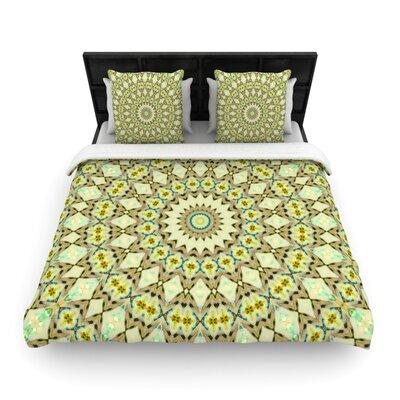 Iris Lehnhardt Kaleidoscope Geometric Woven Duvet Cover