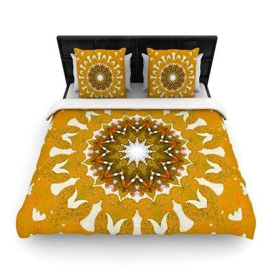 Iris Lehnhardt M1 Woven Duvet Cover Size: King