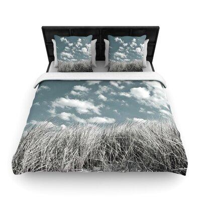 Iris Lehnhardt Dunes Woven Duvet Cover Size: King