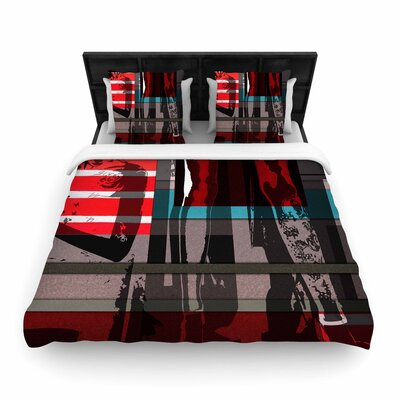 Ivan Joh Temptation Woven Duvet Cover Size: King