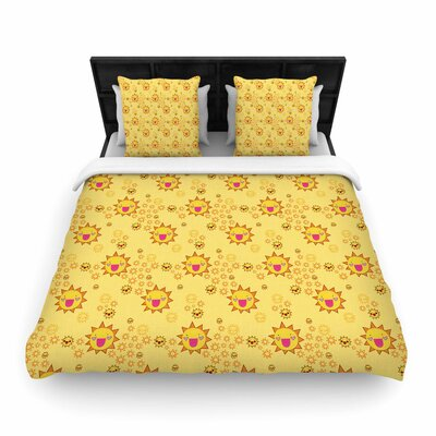 Jane Smith Its All Sunshine Woven Duvet Cover