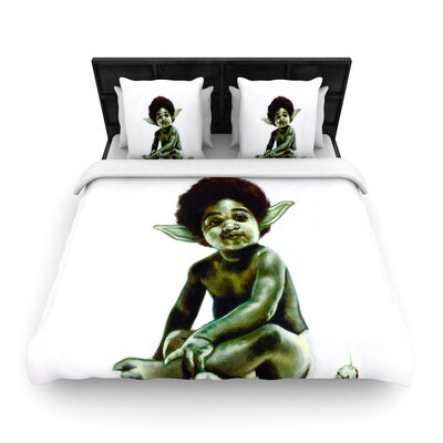 Jared Yamahata Ready to Jedi Pop Art Woven Duvet Cover Size: Full/Queen