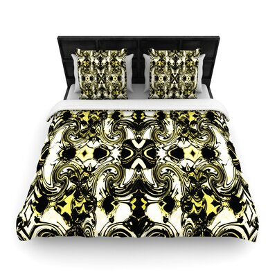 Dawid Roc The Palace Walls II Woven Duvet Cover Size: Full/Queen