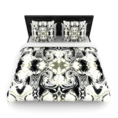 Dawid Roc The Palace Walls III Woven Duvet Cover Size: Full/Queen