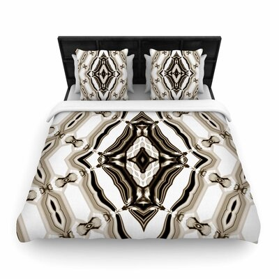 Dawid Roc Inspired By Psychedelic Art 6 Woven Duvet Cover Size: Full/Queen