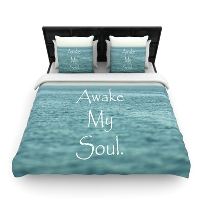 Debbra Obertanec Awake My Soul Woven Duvet Cover Size: Twin