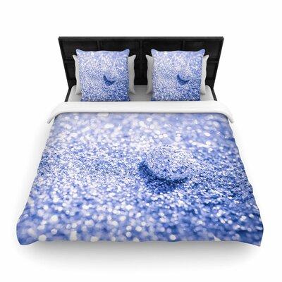 Debbra Obertanec Sparkle Glitter Bokeh Woven Duvet Cover Size: Full/Queen
