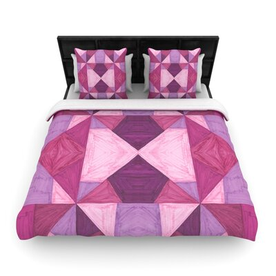 Empire Ruhl Angles Geometric Woven Duvet Cover