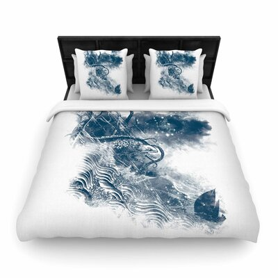 Frederic Levy-Hadida No Escape Woven Duvet Cover Size: Full/Queen
