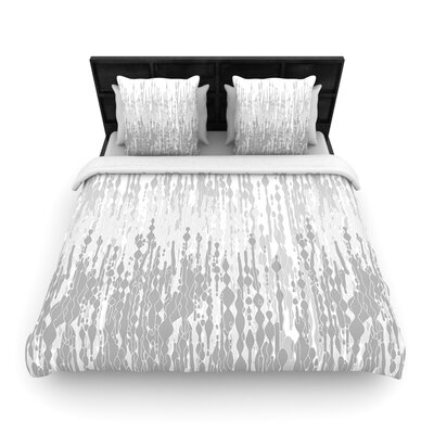 Frederic Levy-Hadida Drops Woven Duvet Cover Size: Full/Queen