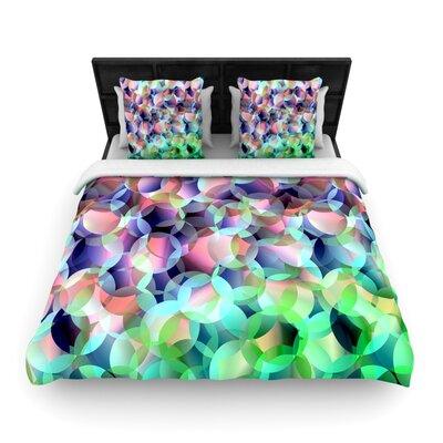 Gabriela Fuente Bubbles Woven Duvet Cover Size: Full/Queen