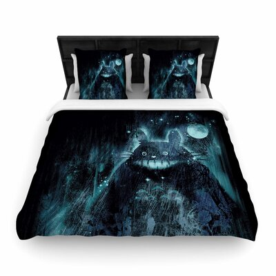 Frederic Levy-Hadida The Hidden Friend Woven Duvet Cover Size: Twin