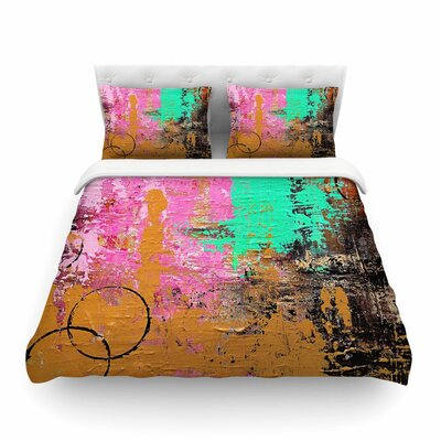 Geordanna Fields Kala II Featherweight Duvet Cover Size: Twin