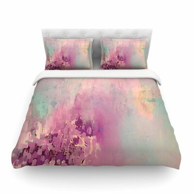 Geordanna Fields Serene Nebula Painting Featherweight Duvet Cover Size: King