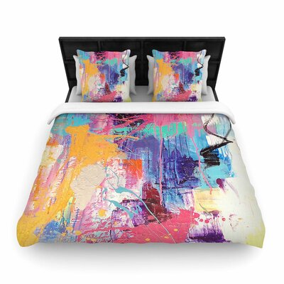 Geordanna Fields The Life After Woven Duvet Cover Size: King