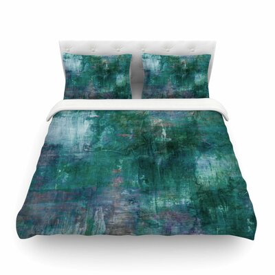 Ebi Emporium Blue Planet Featherweight Duvet Cover Size: Twin