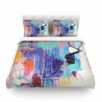 Geordanna Fields The Life After Featherweight Duvet Cover Size: Twin
