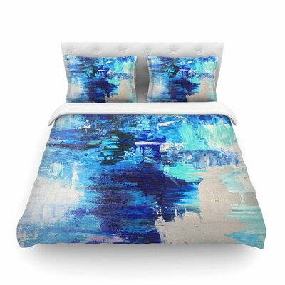 Geordanna Fields 'Walked on Water' Featherweight Duvet Cover Size: King
