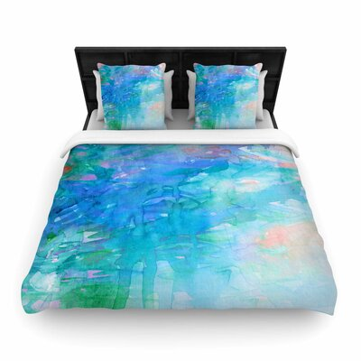 Ebi Emporium Childlike Wonder Woven Duvet Cover Size: Full/Queen