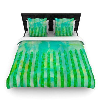 Ebi Emporium Fancy This Woven Duvet Cover Size: Twin