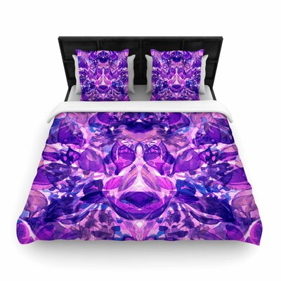 Ebi Emporium Enchanted Forest 8 Woven Duvet Cover Size: Full/Queen