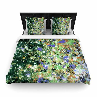 Ebi Emporium Into To the Night Woven Duvet Cover Size: Full/Queen