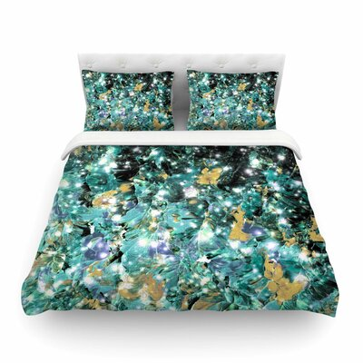 Ebi Emporium Minty Way Featherweight Duvet Cover Size: Twin