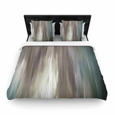 Ebi Emporium Silverscreen Dreams Woven Duvet Cover Size: Full/Queen