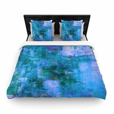 Ebi Emporium The Reef Woven Duvet Cover Size: Twin
