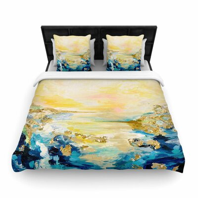 Ebi Emporium The Reverie Woven Duvet Cover Size: Twin