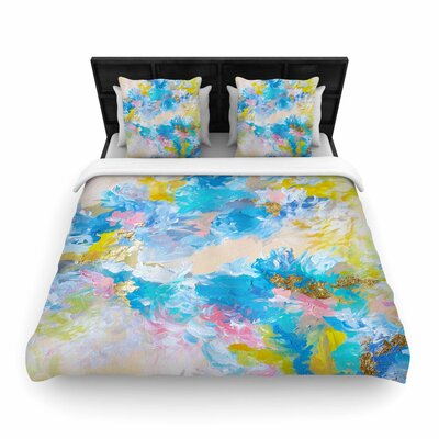 Ebi Emporium When We Were Mermaids Woven Duvet Cover