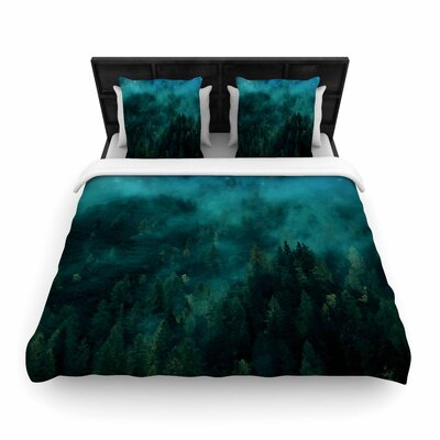 888 Design Forest Night Digital Woven Duvet Cover