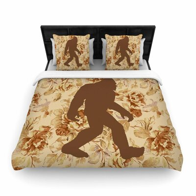 Alias Bigfoot Woven Duvet Cover Size: Twin