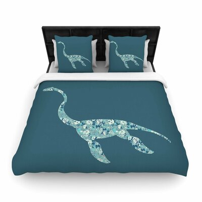 Alias Nessie Woven Duvet Cover Size: Twin